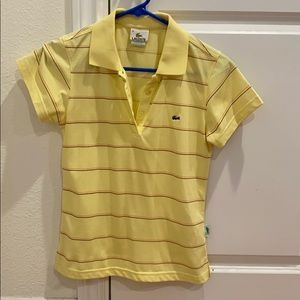 Lacoste women's polo shirt size S